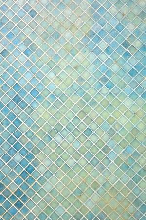 mosaikfliesen wei, blue mosaic tiles texture with white filling stock photo, picture, Design ideen
