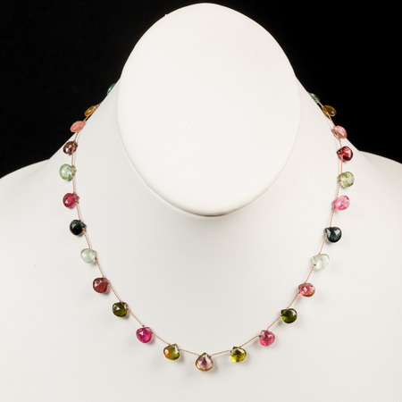 colorful beads necklace photo