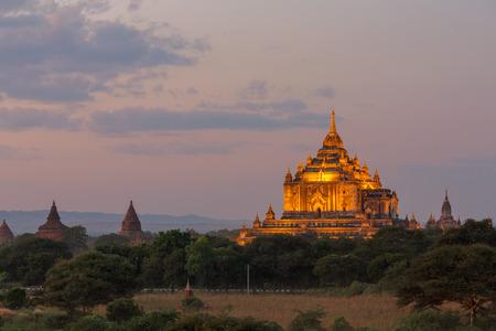 bagan: The temple of bagan at night, Bagan, Myanmar