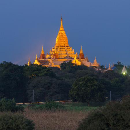 bagan: Ananda temple in Bagan, Myanmar.