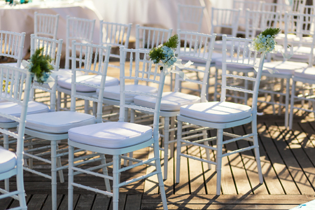 marrying: wedding chair