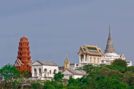 Khao Wang - the temple is on a mountain in Thailand Stock Photo - 12030044