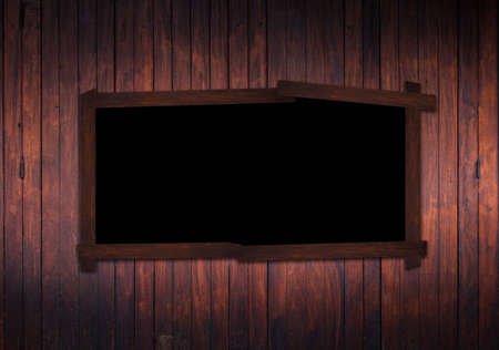 blackboard wood photo