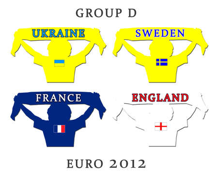 Euro 2012 fan group D