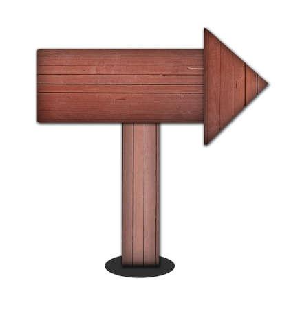 arrow wood: flecha de madera