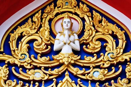 Painting in traditional Thai style Stock Photo - 8325813