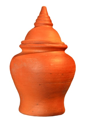 Pottery on white background it s isolate Stock Photo - 14838963
