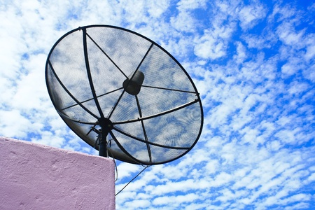 Satellite is a device that is very important  It can make people get news from around the world  photo