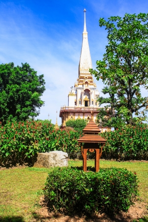 Large pagoda in Thailand  It is beautiful  Large pagoda photo