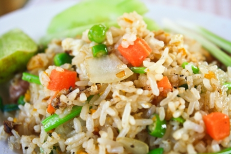 fried rice: Close-up of delicious fried rice  Fried rice