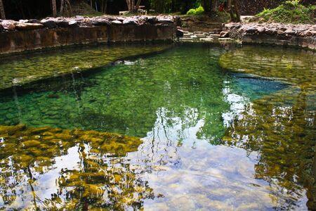 moistness: Primavera calda in Thailandia Hot spring Archivio Fotografico