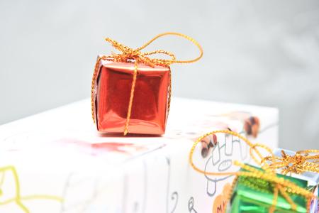 christmas gift: Christmas gift box.
