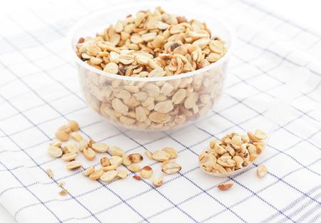 earthnuts: Raw peanuts.