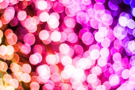 Colorful abstract bokeh light
