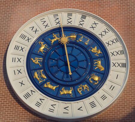 midnight hour: roman clock