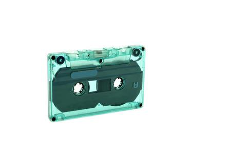 vintage cassette tape isolated white background 版權商用圖片