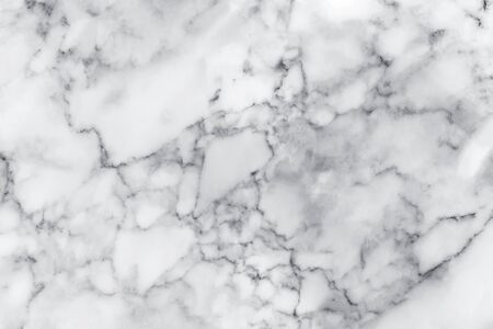 White marble texture with natural pattern for background, design or artwork Imagens