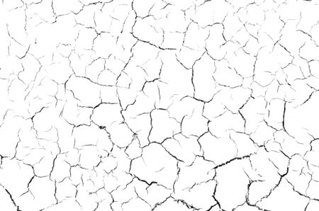 The cracks texture white and black cracked, background of white, For design and advertising