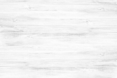 White wood floor texture background.