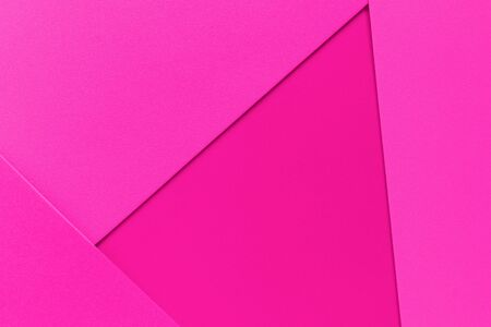Abstract pink pastel colored paper texture minimalism background, colorful paper pattern 免版税图像