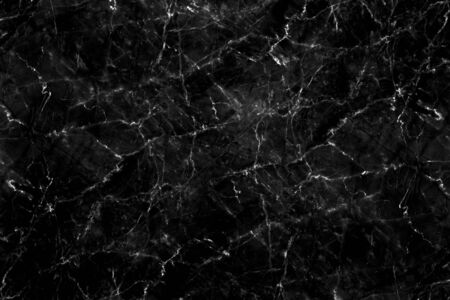 Luxury of black marble texture and background for decorative design pattern art work. Marble with high resolution 免版税图像