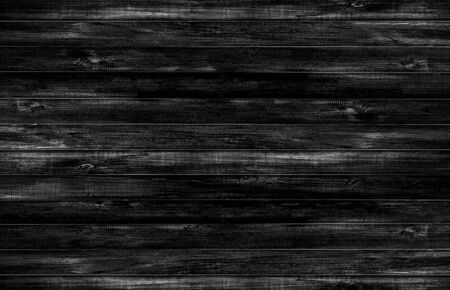 Black wood floor texture background. Abstract black background wood pattern Blank for design 免版税图像