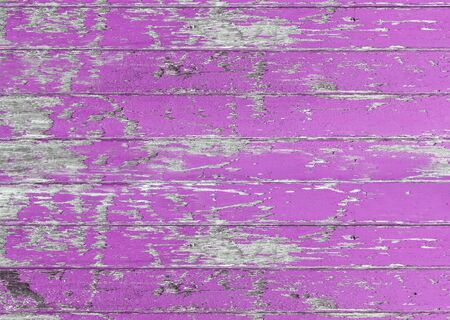 Vintage wood board pink color painted wood wall as background or texture, Natural pattern. Blank copy space.