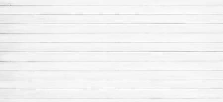 White wood texture and backgrounds. Empty template. Standard-Bild