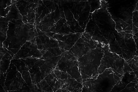 Black marble texture abstract background for design pattern art work, with high resolution.