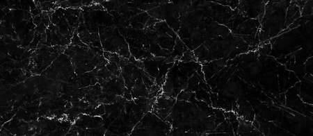 Black marble texture with natural pattern for background or design art work. Marble with high resolution