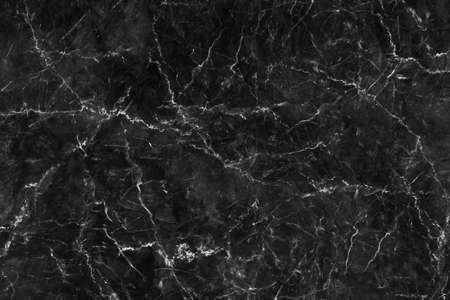 Black marble background texture natural stone pattern abstract for design art work. Marble with high resolution Standard-Bild