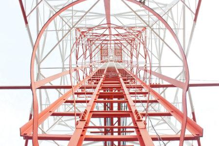 comunication: tower comunication Stock Photo