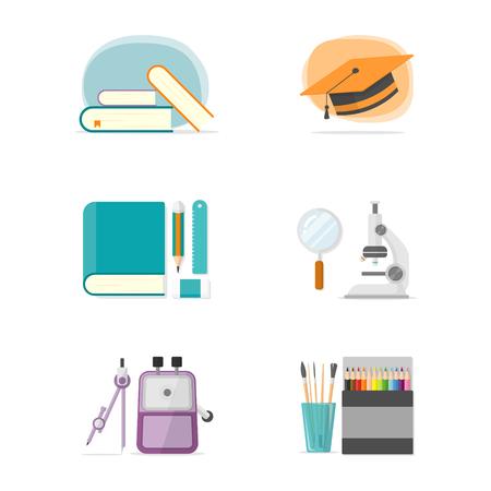 stationerys illustration Banco de Imagens - 56089077