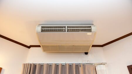 ceiling: Old ceiling air conditioner, For cool weather