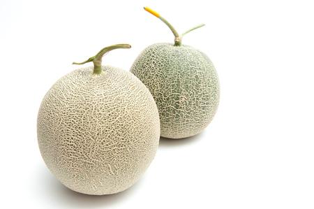 Melon green, fruit balls, sweet taste delicious.