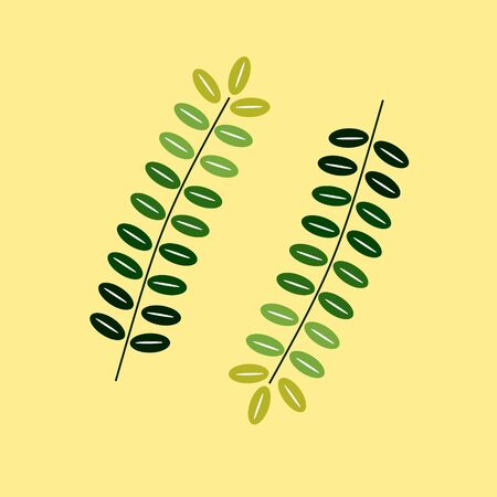Floral Creeping Leaf Nature Vector