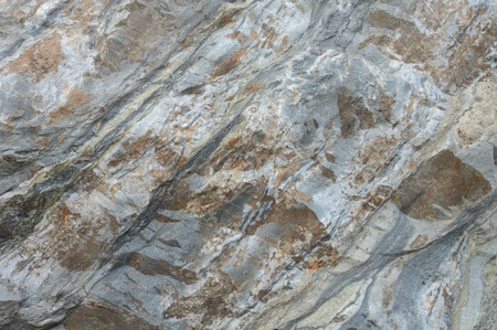 Close up or macro photograph of a rock  boulder photo