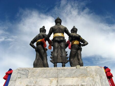 generality: monument Three Kings, Chiang Mai, Thailand  Generality in Thailand