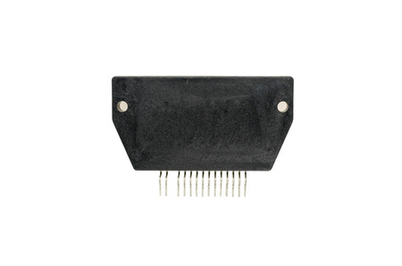 Ic: Electronic Parts,IC - Integrated Circuit in white background