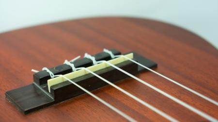 nylon string: Ukulele nylon string bridge