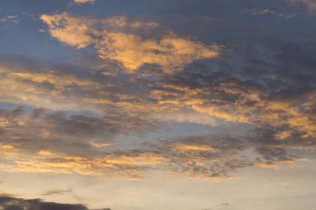 cloud scape: Beauty cloud scape in evening