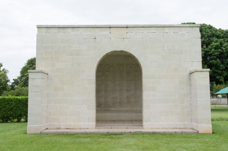 national military cemetery: List of brave sodier ingraveyard Stock Photo