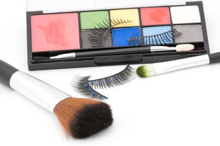 whitebackground: Makeup set isolate on whitebackground