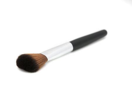 Brush for make up on white background Stock Photo