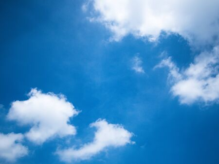 Background blue sky with space Stock Photo