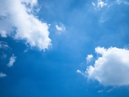 Bluesky and white cloud in summer