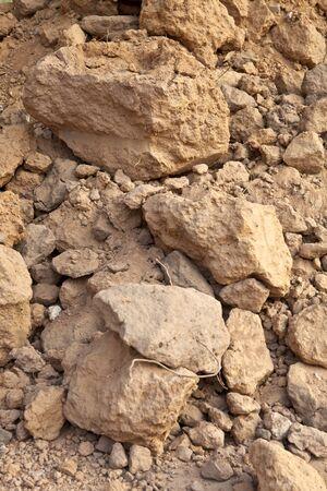 clod: soil nugget, soil clod, soil lump, soil chunk