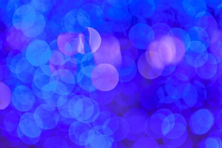 bright blue, pink , purple bokeh, beautiful abstract wallpaper background 免版税图像