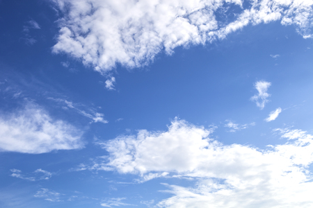 blue sky and wihte cloud in the afternoon, relax, 免版税图像