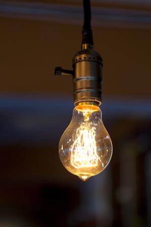 tungsten lamp Stock Photo